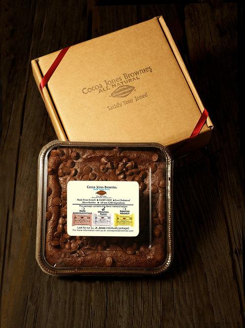 Cocoa Jones Brownies Belgian Chocolate Chip Family Pack