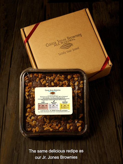 Cocoa Jones Brownies Walnut Family Pack