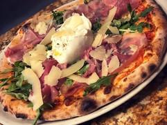 Buratta pizza