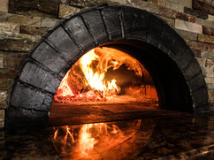 Our wood-burning oven