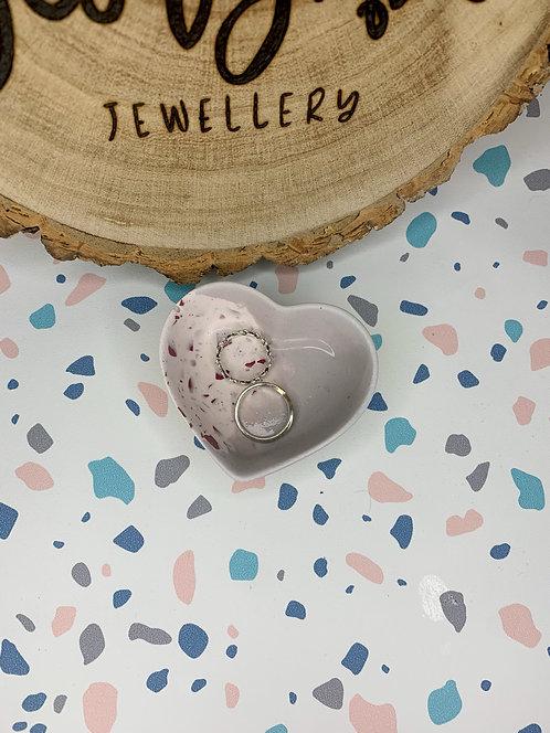 Lilac Heart Trinket