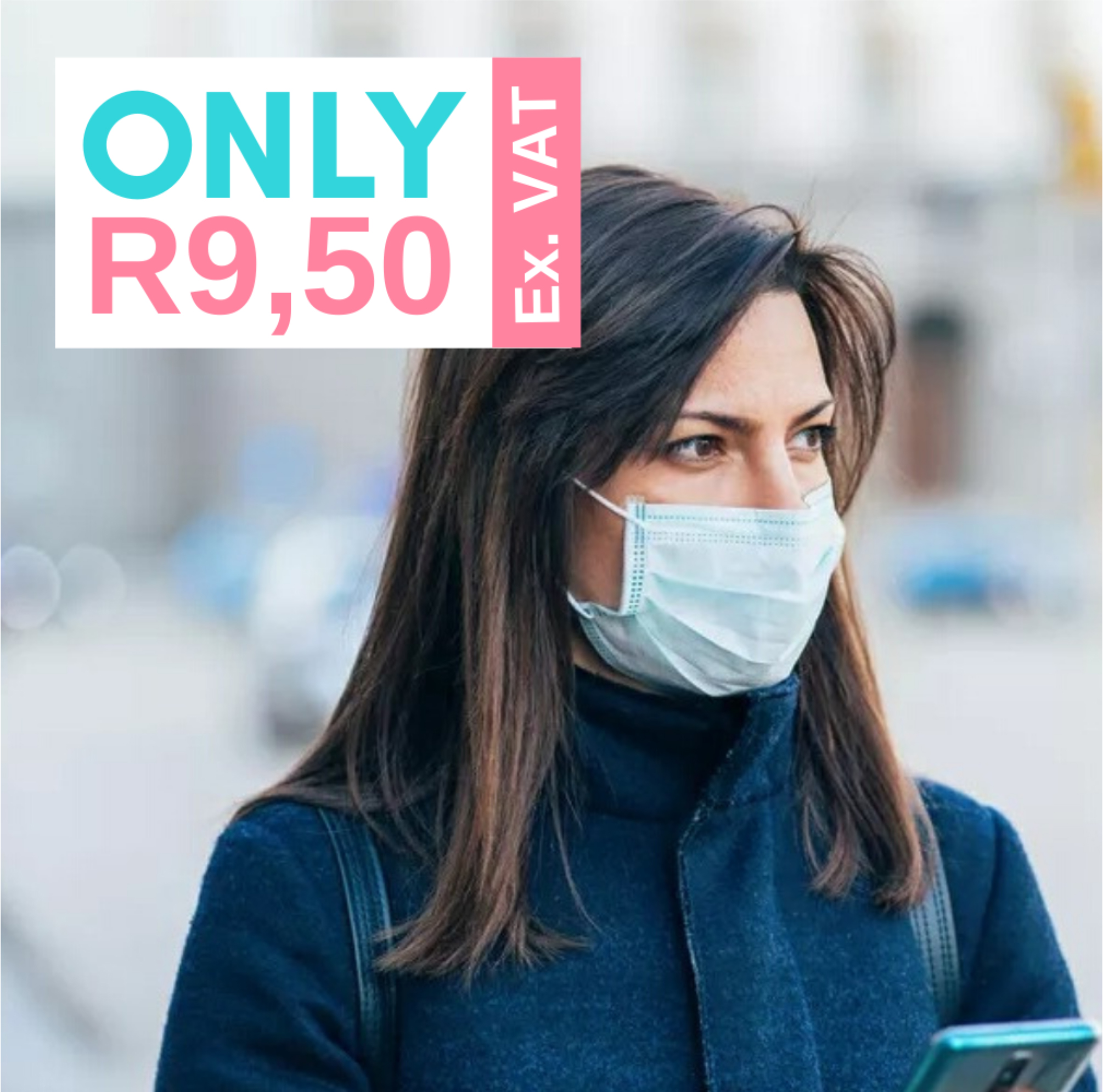 3PLY SURGICAL GRADE FACE MASK