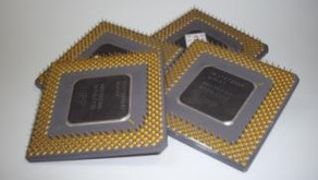 Gold recovery process from Ceramic CPU's - Part 1