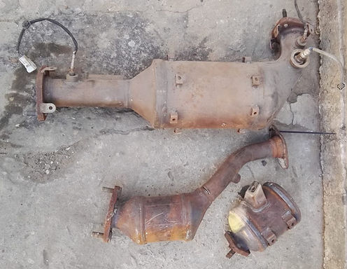 scrap catalytic conveters