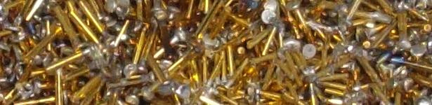 Estimating gold plating pins for scrap recovery