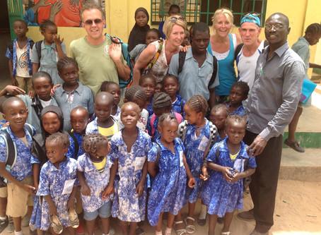Vanuit Gambia door Leo en Eli