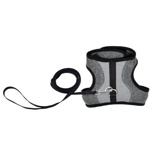 COASTAL Adjustable Cat Wrap Harness w/Leash