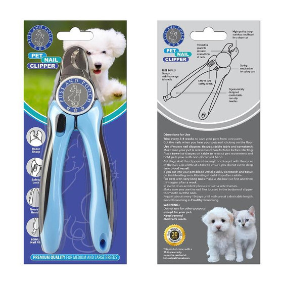 Puss and Pooch Pet Nail Clipper