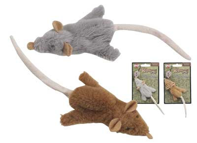 ETHICAL Skinneeez For Cats Mouse w/Catnip