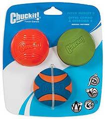CHUCKIT Fetch Medley 2 - Assorted 3pk Med