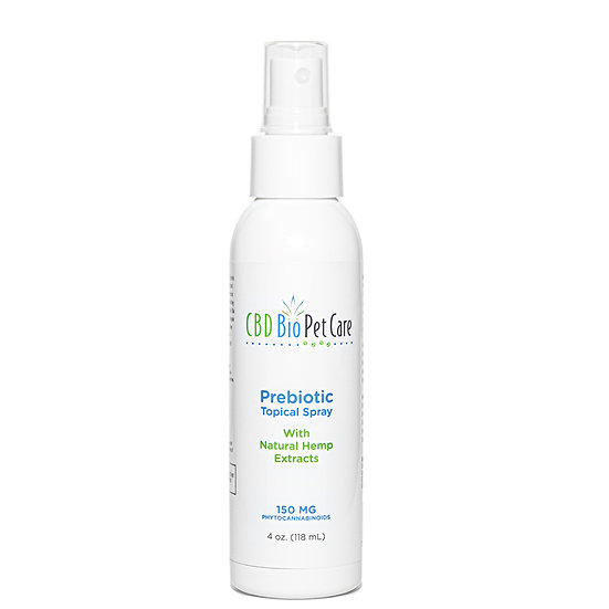 Pet Prebiotic Topical Spray for Hot Spots