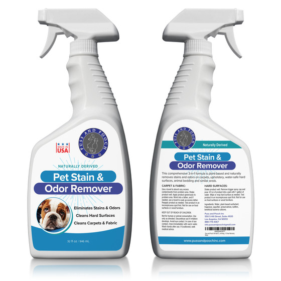 Puss and Pooch Pet Stain & Odor Remover
