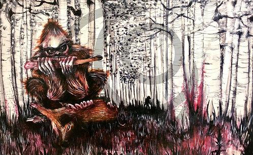 Bigfoot - Print