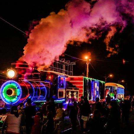 Trem de Natal em Morretes Paraná