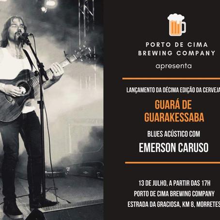 Lançamento da Décima Edição da Cerveja Guará no Porto de Cima.
