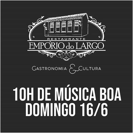 Restaurante Empório do Largo |  inaugura novo Palco | Morretes