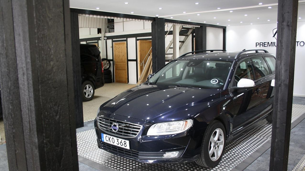 Volvo V70 D3 Geartronic Kinetic, Classic Euro