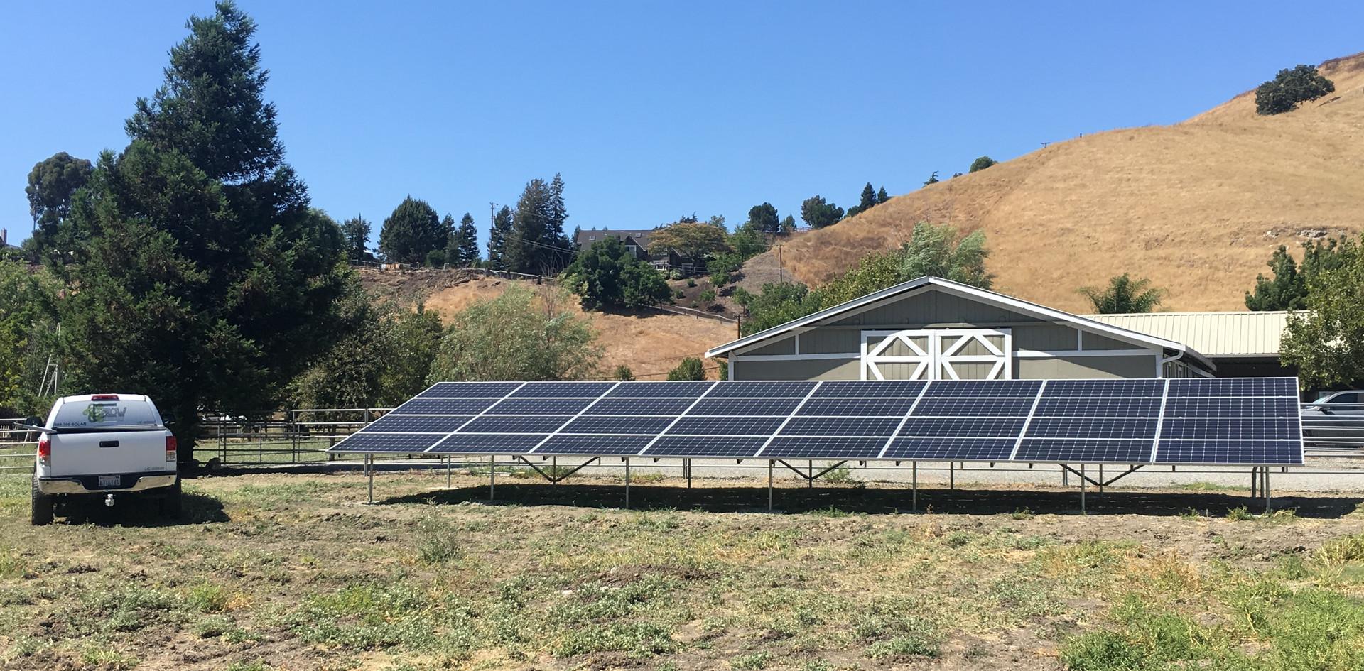Ground Mount System - Pleasanton, CA