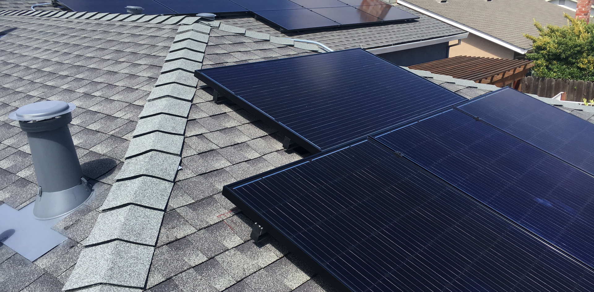 Re-Roof with American-Made PV Panel Install - Oakley, CA