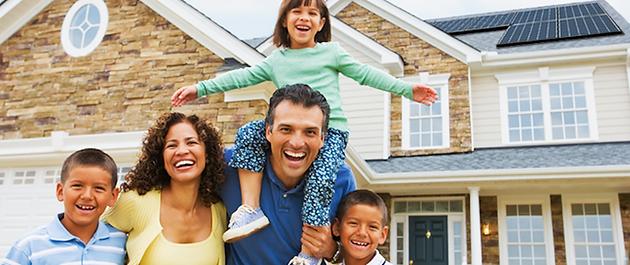 Happy Solar Family - eFlow Energy