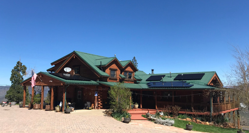 Solar PV Install Equipt with Battery Backup - Yosemite Valley, CA