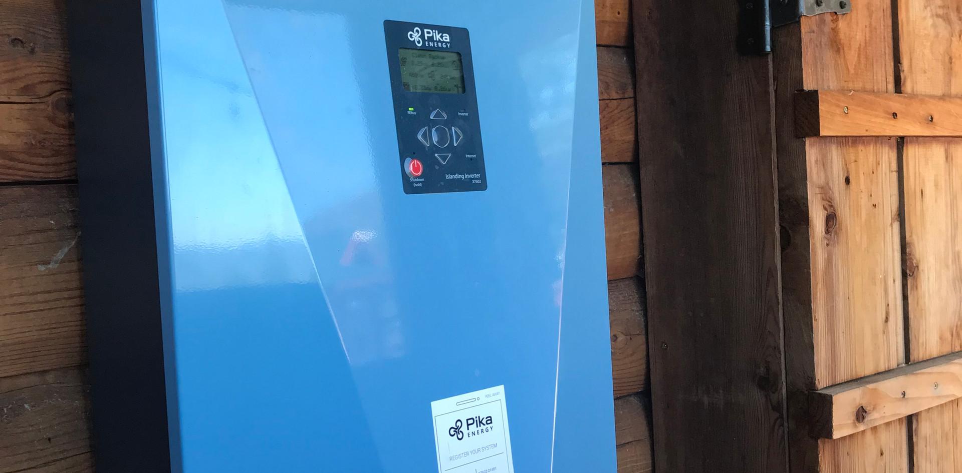 Battery Backup Install - Yosemite Valley, CA
