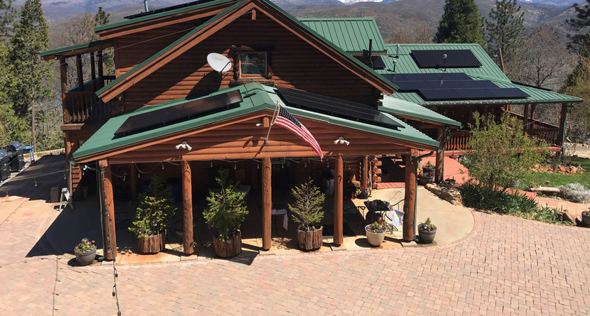 Solar PV Install - Yosemite Valley, CA
