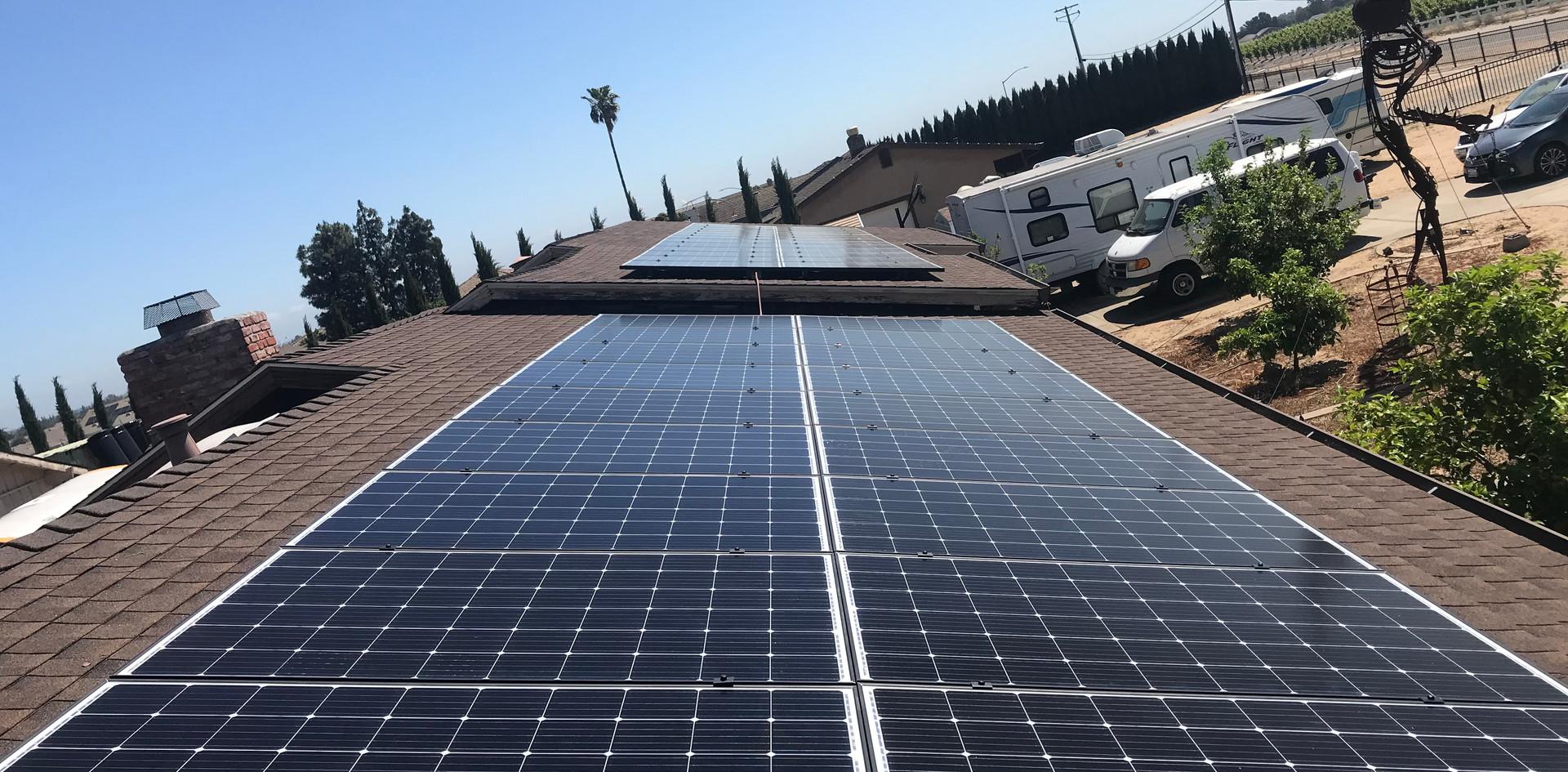 Solar PV Install -Oakley, CA
