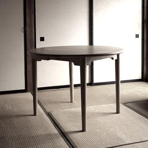 栗の丸テーブル