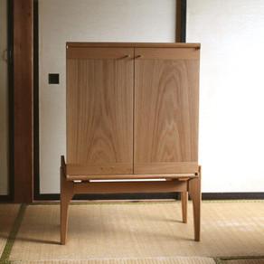 ホームページ 特注家具追加しました オークのサイドボード