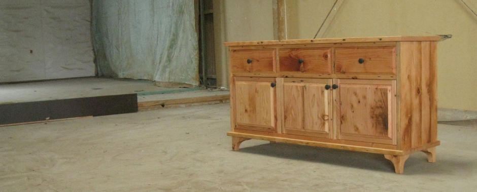 old pine chest