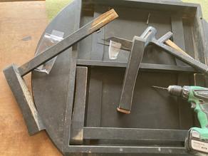 卓袱台の修理