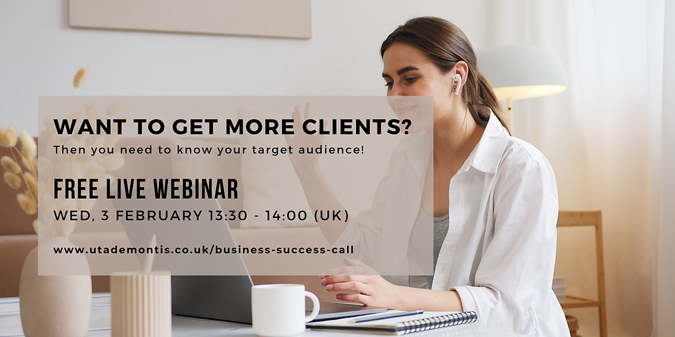 Want to Get More Clients? Then You Need to Know Your Target Audience