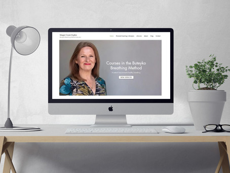 Website Redesign for Buteyko Breathing Method Instructor