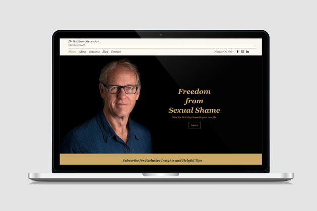 Website Design for Intimacy Coaches