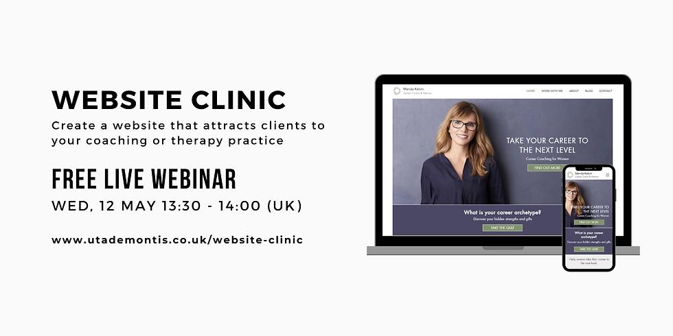 Website Clinic