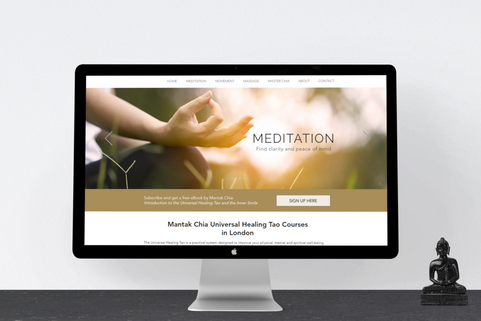 Website Design for Meditation Teachers