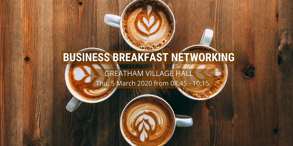Greatham Business Breakfast Networking