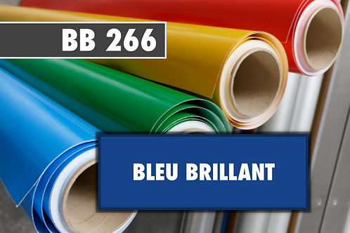 BB 266 - PVC Bleu brillant