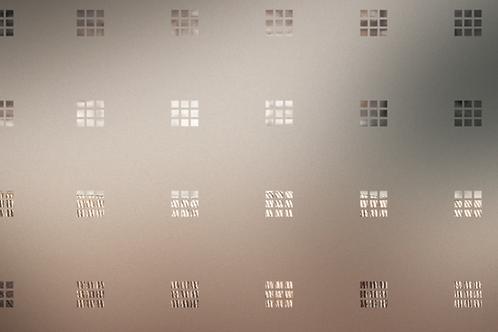 INT460 - Carrés dépolis de 10 mm