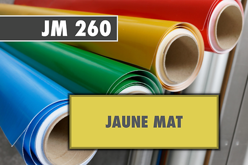 JM 260 - PVC Jaune mat