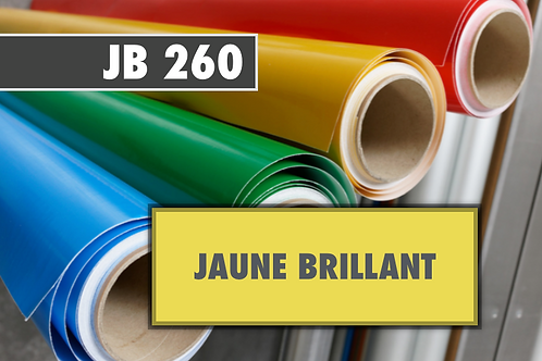 JB 260 - PVC Jaune brillant