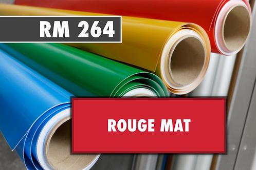 RM 264 - PVC Rouge mat