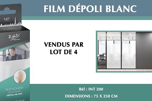 INT 200 - Film dépoli blanc mini