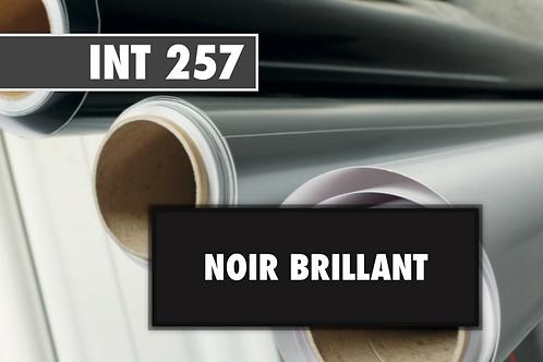 INT 257 - PVC Noir brillant