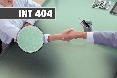INT 404 - PVC Dépoli pailleté vert