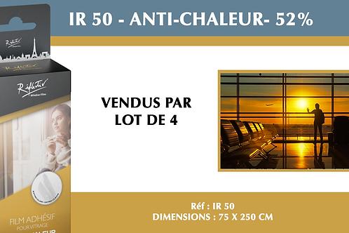 IR 50 - Protection solaire 52 % mini