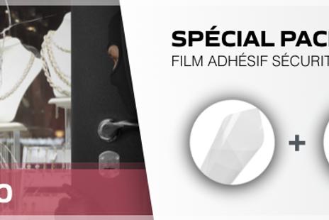 Films adhésifs vitrages gamme sécurité pack anti intrusion- Reflectiv