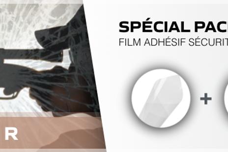 Films adhésifs vitrages gamme sécurité pack - Reflectiv
