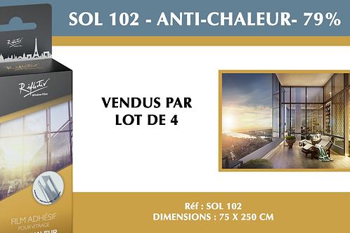 SOL 102 - Film anti-chaleur - 79%